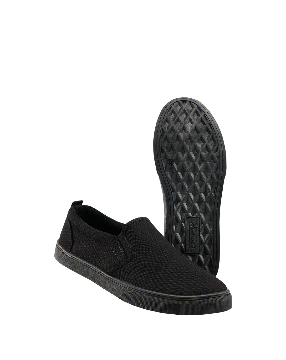 Image of   Brandit Southampton Slip On Sneaker (Sort, 36 EU / 3 UK)