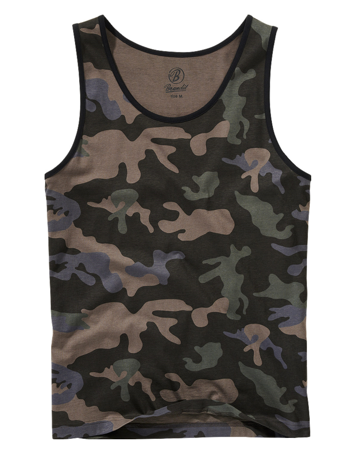 Image of   Brandit Tank Top (Dark Camo, 3XL)