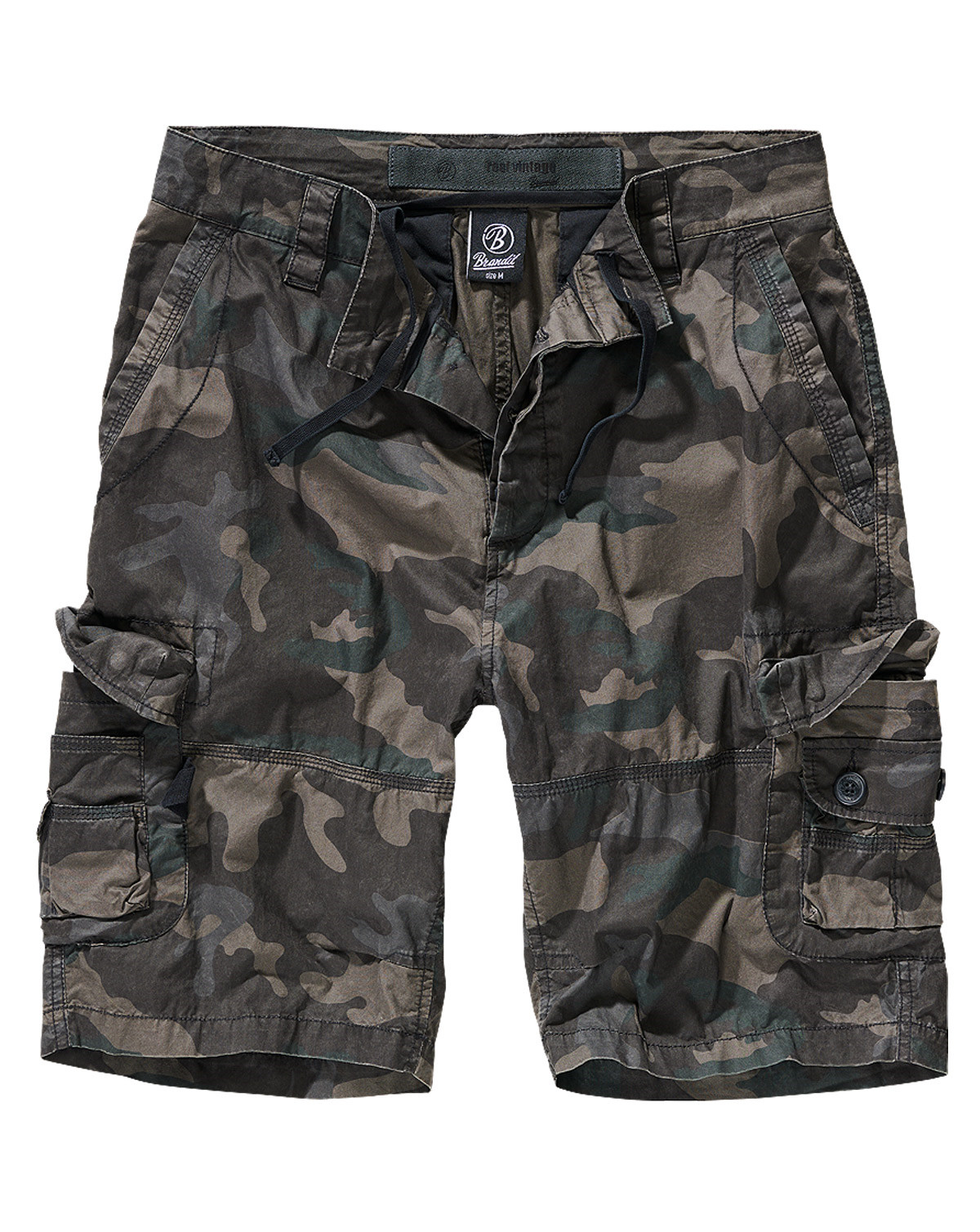 Brandit Ty Shorts (Dark Camo, XL)