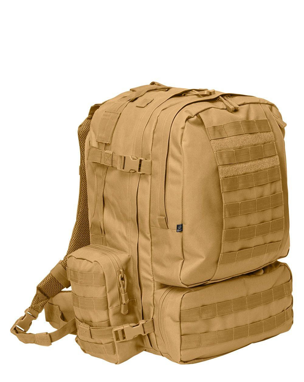 Image of   Brandit U.S. 3-Day Assault Rygsæk - 50 Liter (Coyote Brun, One Size)