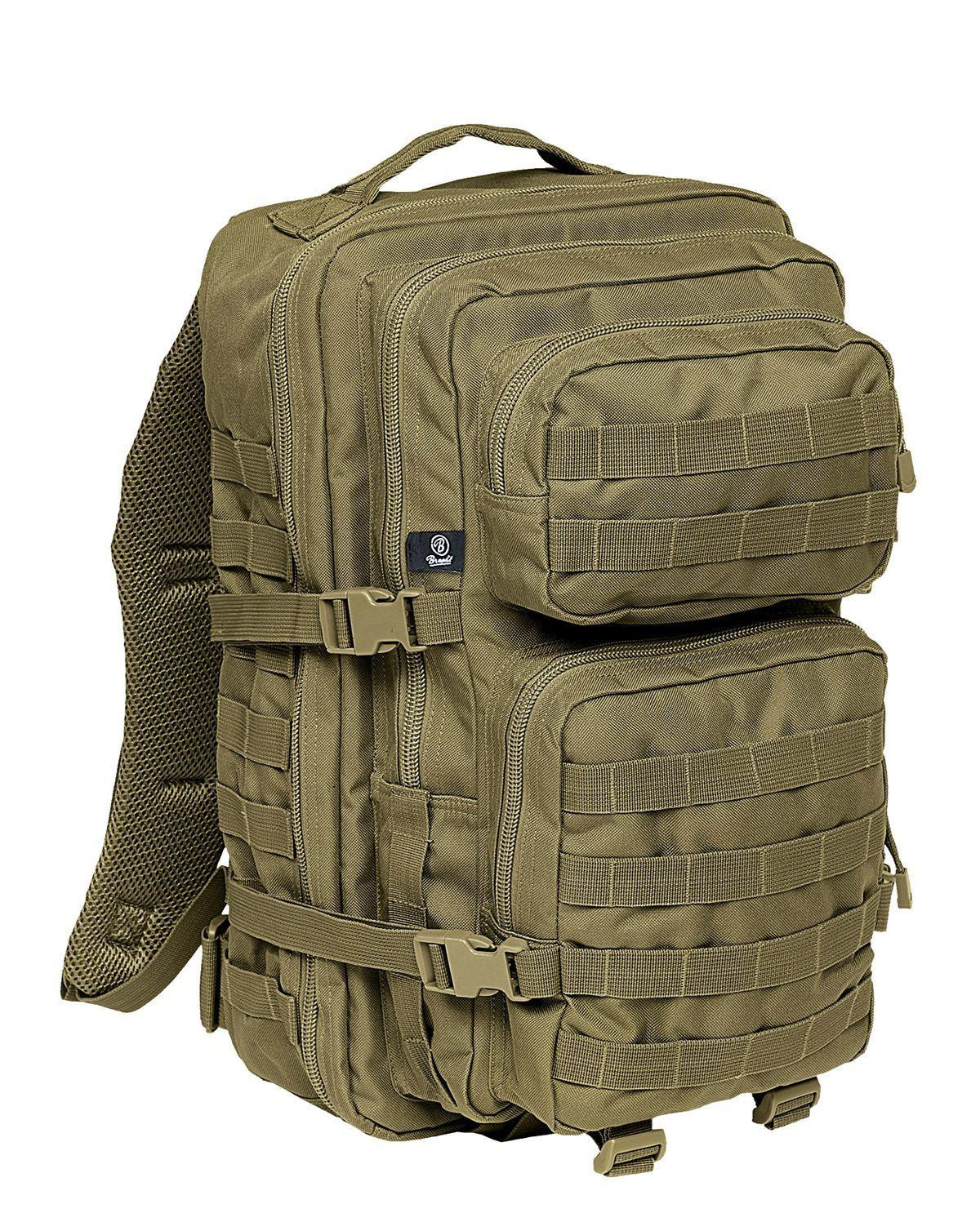 Image of   Brandit U.S. Assault Pack, Large (Oliven, L)