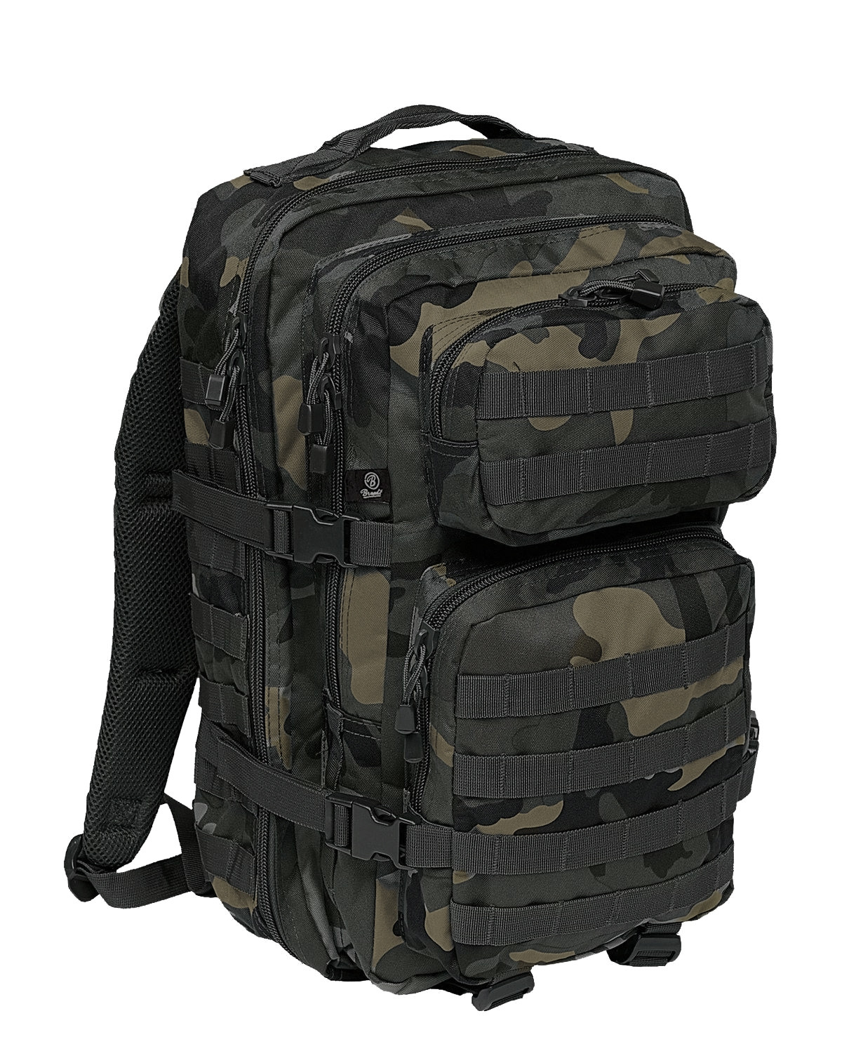 Image of   Brandit U.S. Assault Pack, Large (Black Camo, L)