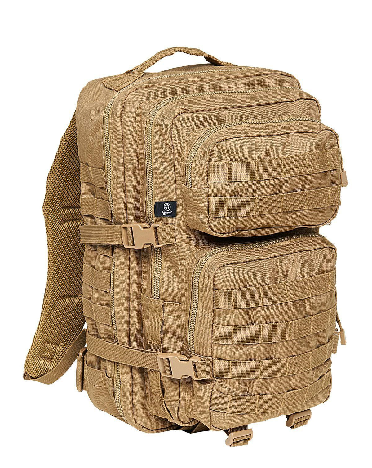 Image of   Brandit U.S. Assault Pack, Large (Camel, L)