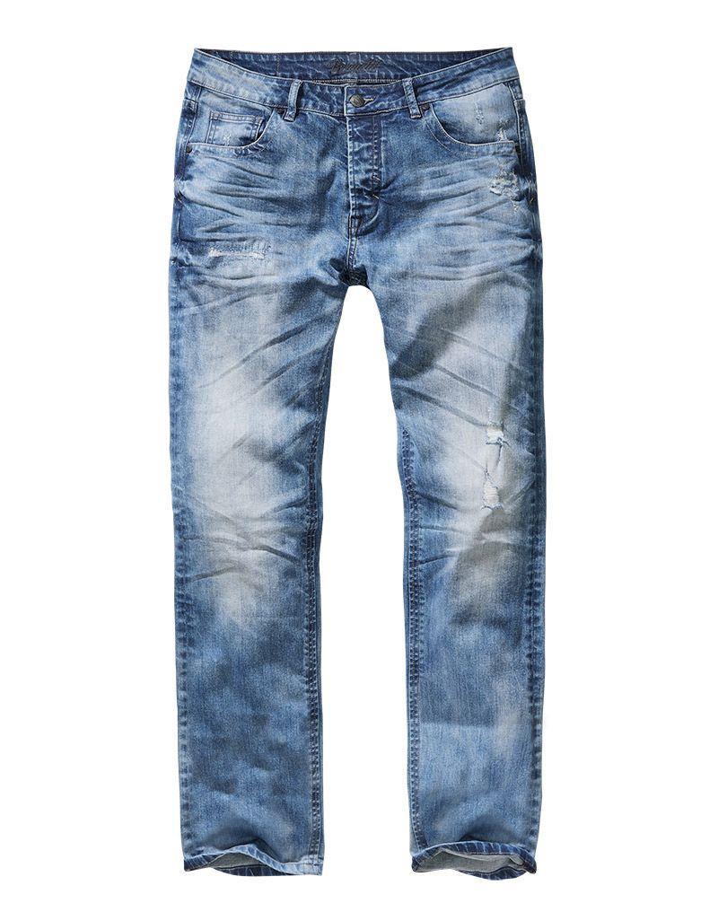 Brandit Will Denim Jeans, Slim Fit (Denim, W38 / L34)