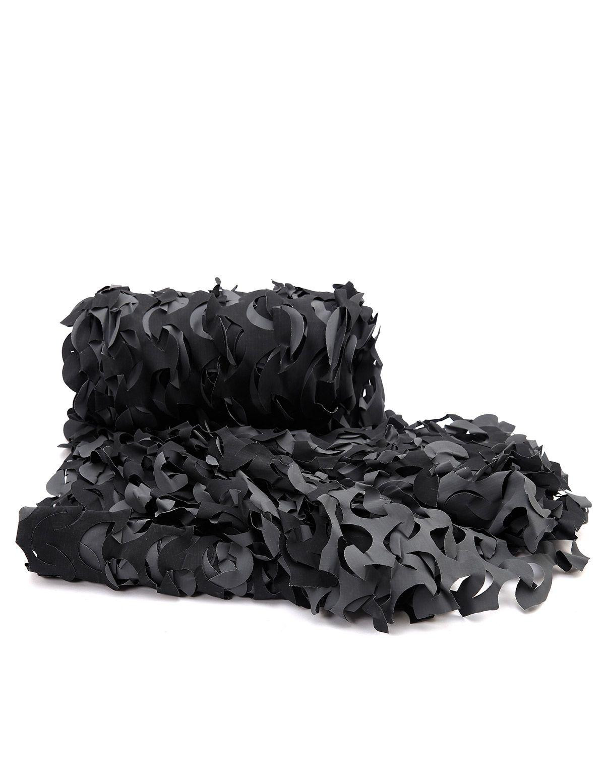 Image of   Camo Systems® Camouflagenet 3 x 2,4 meter (Black Camo, One Size)