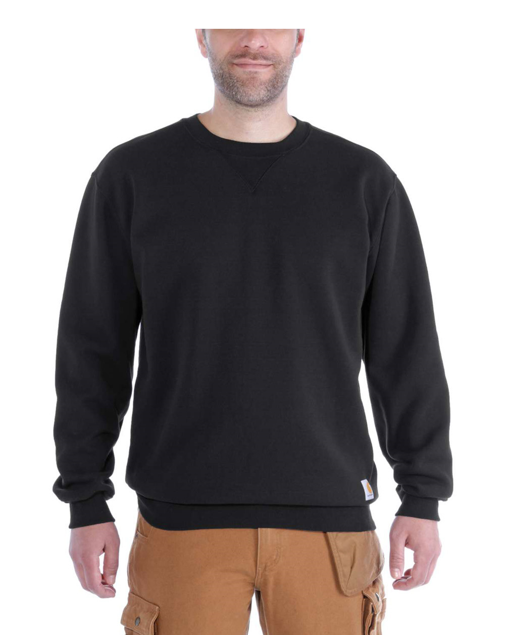Image of   Carhartt Midweight Crewneck Sweatshirt (Sort, XL)