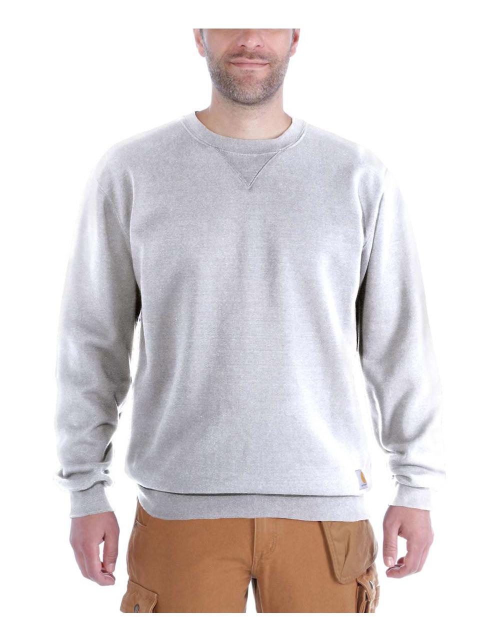 Image of   Carhartt Midweight Crewneck Sweatshirt (Grå Meleret, 2XL)