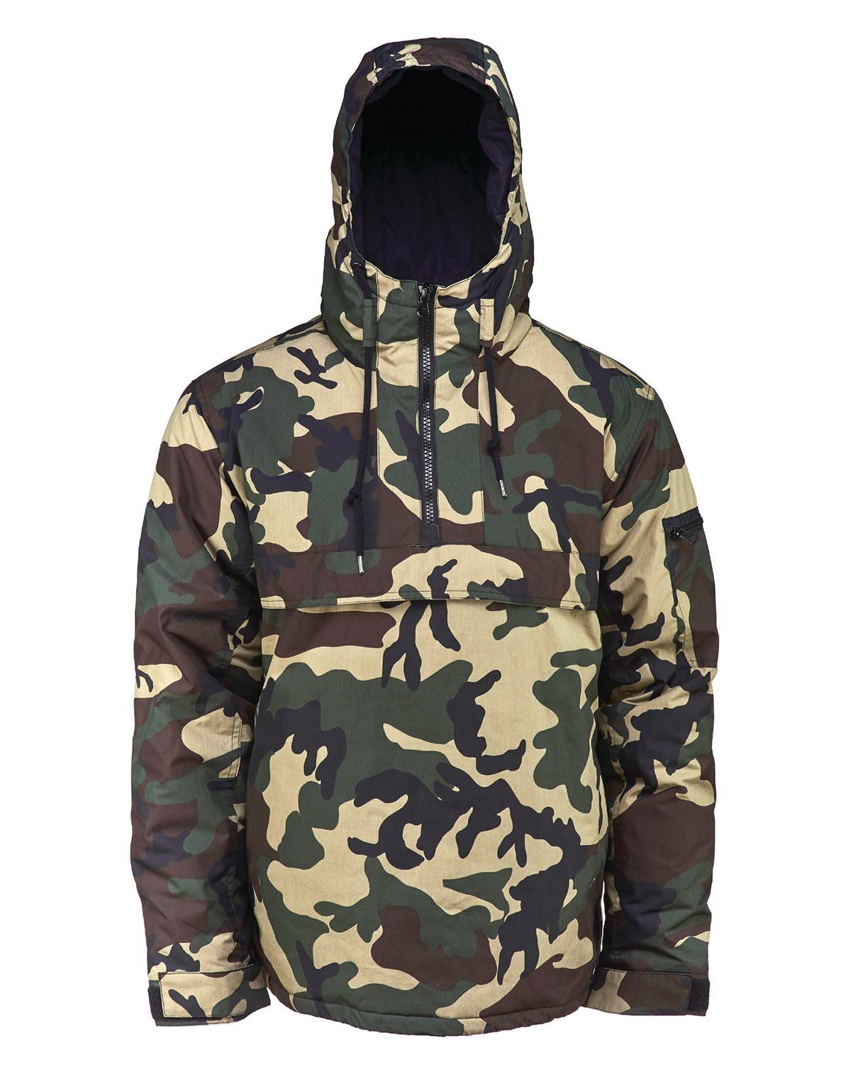 Image of   Dickies Belspring Jakke (Camouflage, L)