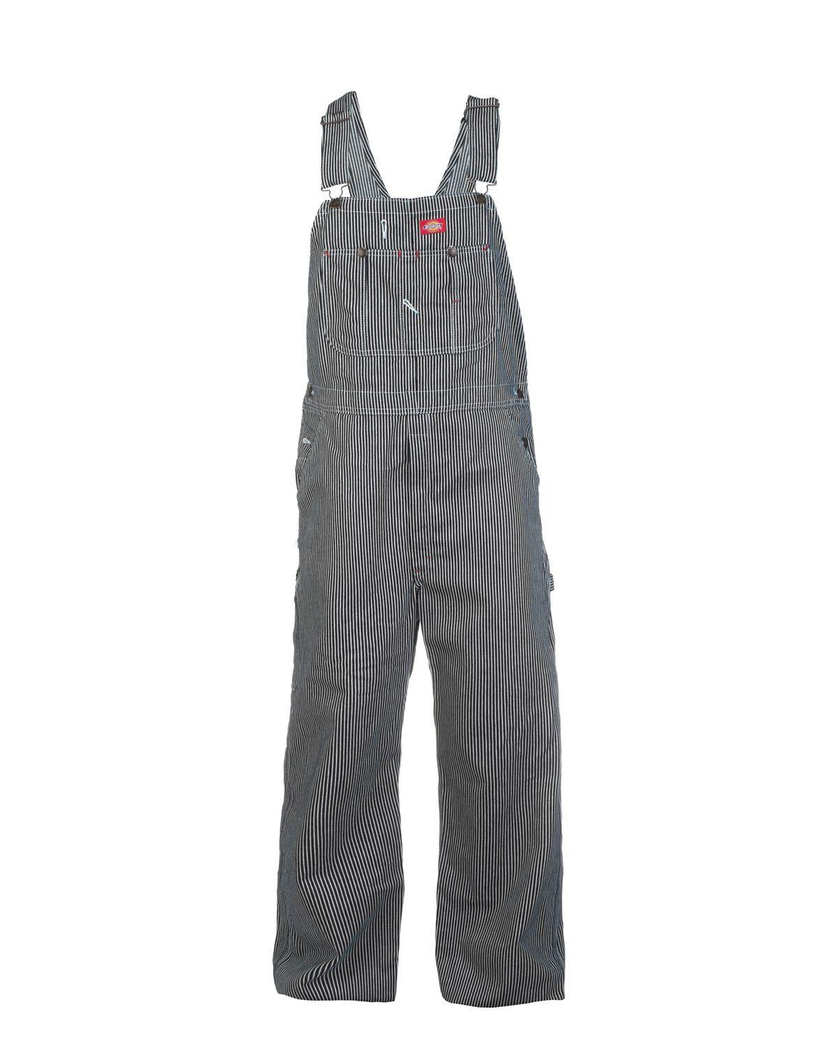 Image of   Dickies Bib Overall (Hickory Stripe, W30 / L32)