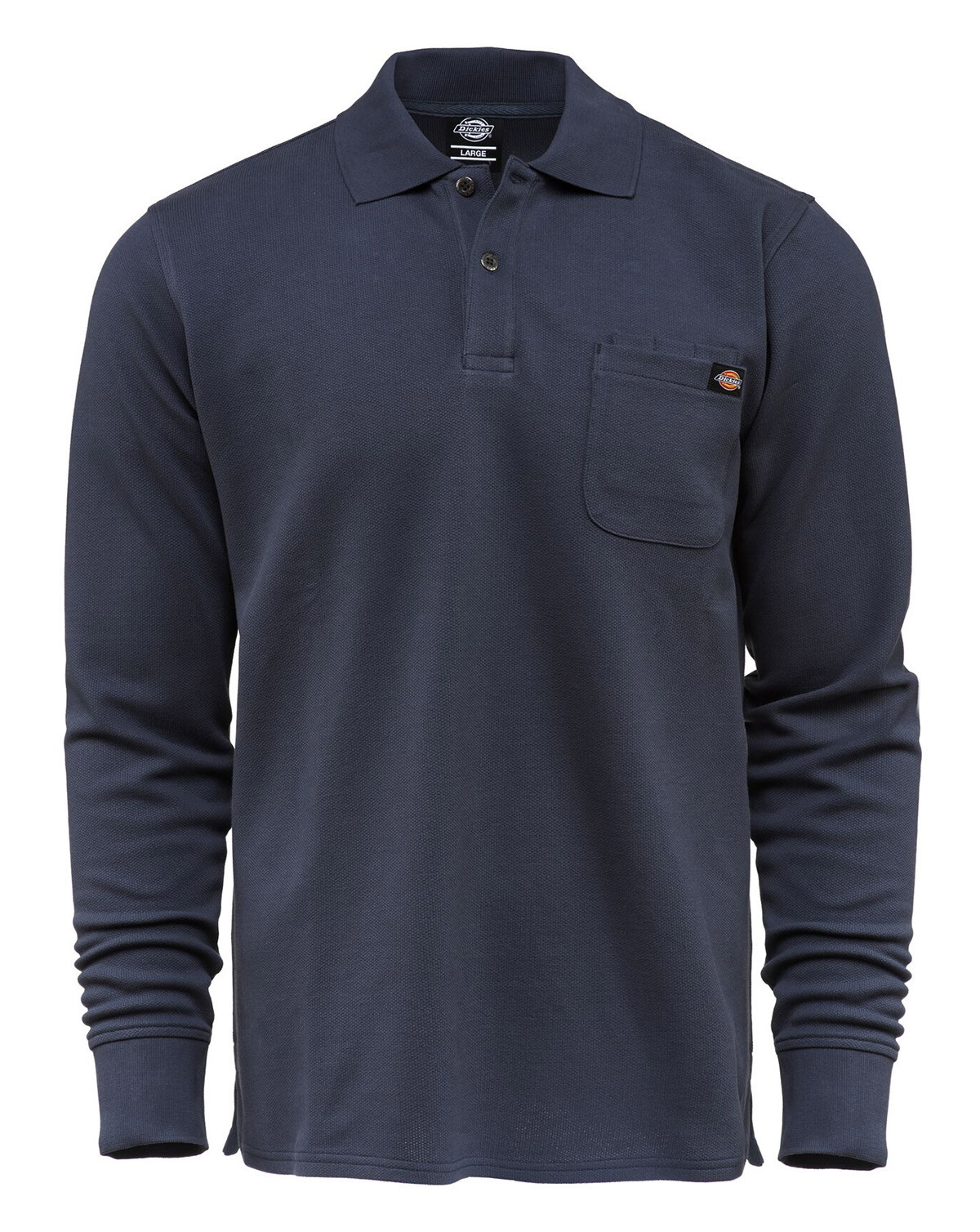 Image of   Dickies Canmer Langærmet Polo (Navy, 2XL)
