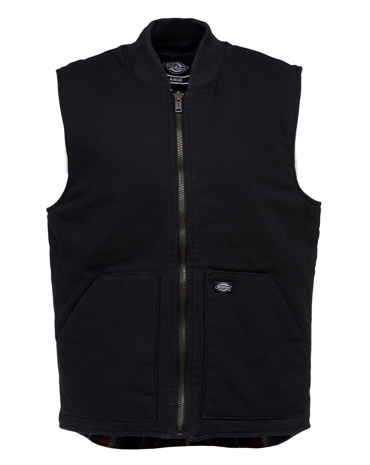 Image of   Dickies Lawrenceburg Canvas Vest (Sort, 2XL)