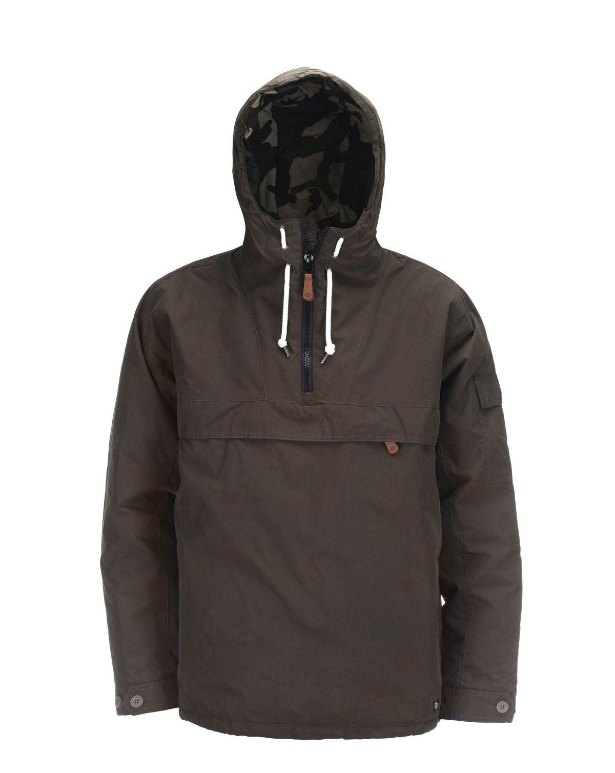 Image of   Dickies Milford Anorak (Oliven, 2XL)