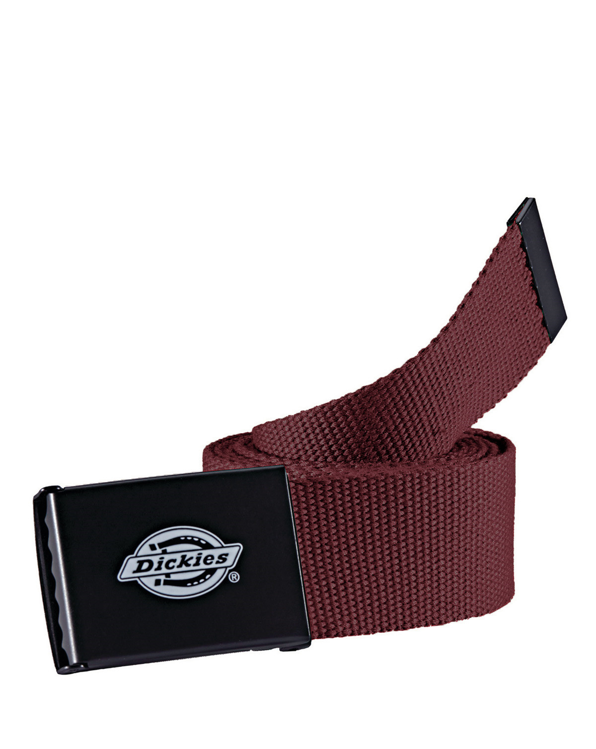 Image of   Dickies Orcutt Rollerbuckle Bælte (Maroon, One Size)