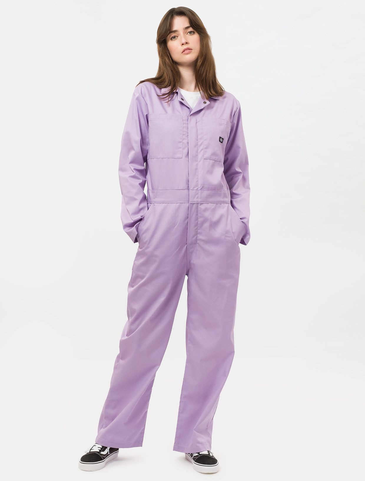 Image of   Dickies Revelo Coverall, Regulær Pasform (Lilla, XS)