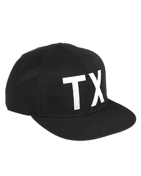 Image of   Dickies Snapback Cap - Texas (Sort, One Size)
