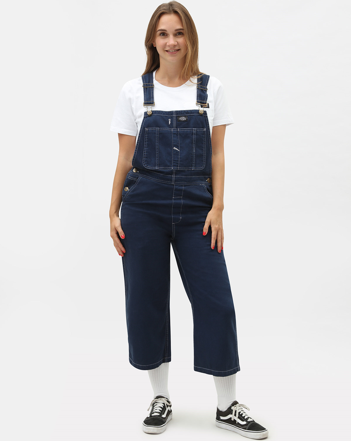 Image of   Dickies Uvalda Womens Bib (Deep Blue, L)