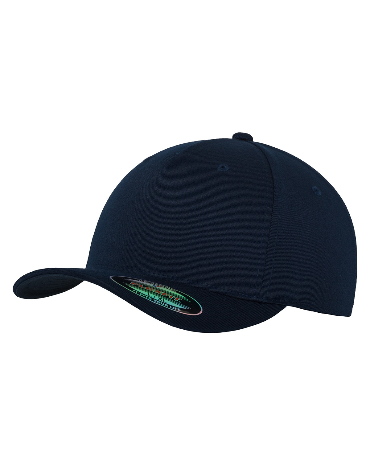 Image of   Flexfit 5 Panel Cap (Navy, L/XL)
