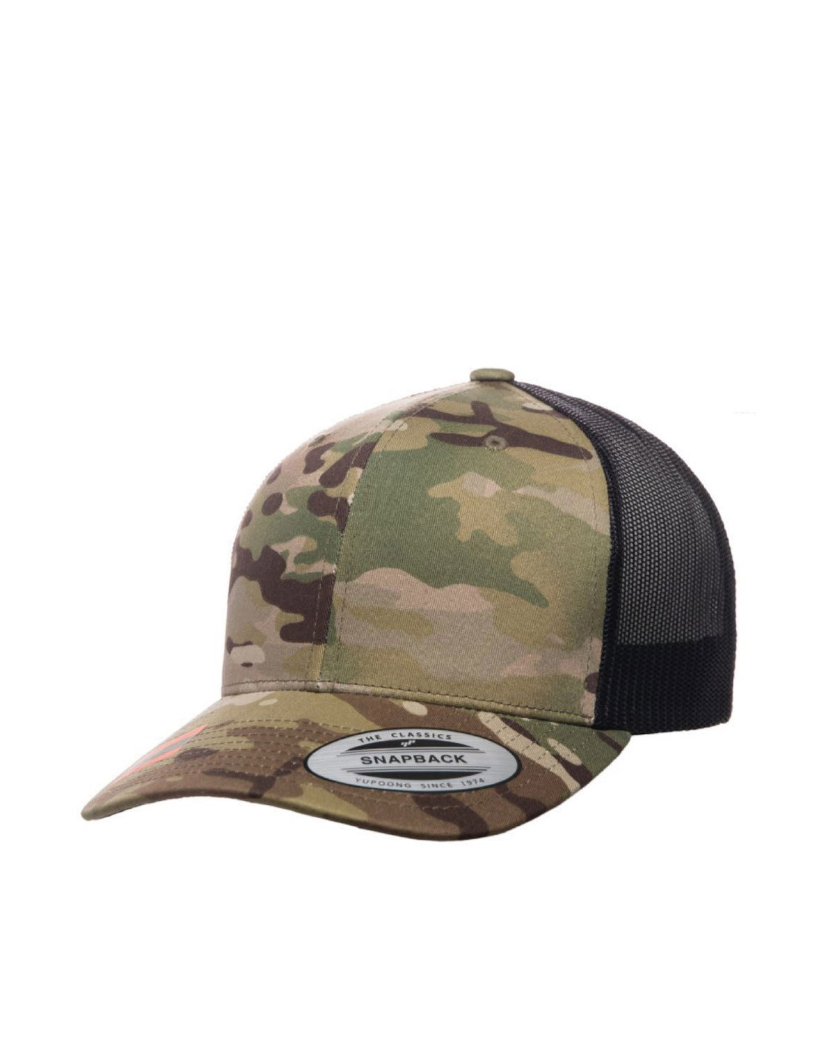 Image of   Flexfit Baseball Cap m. Mesh (Multicam, One Size)
