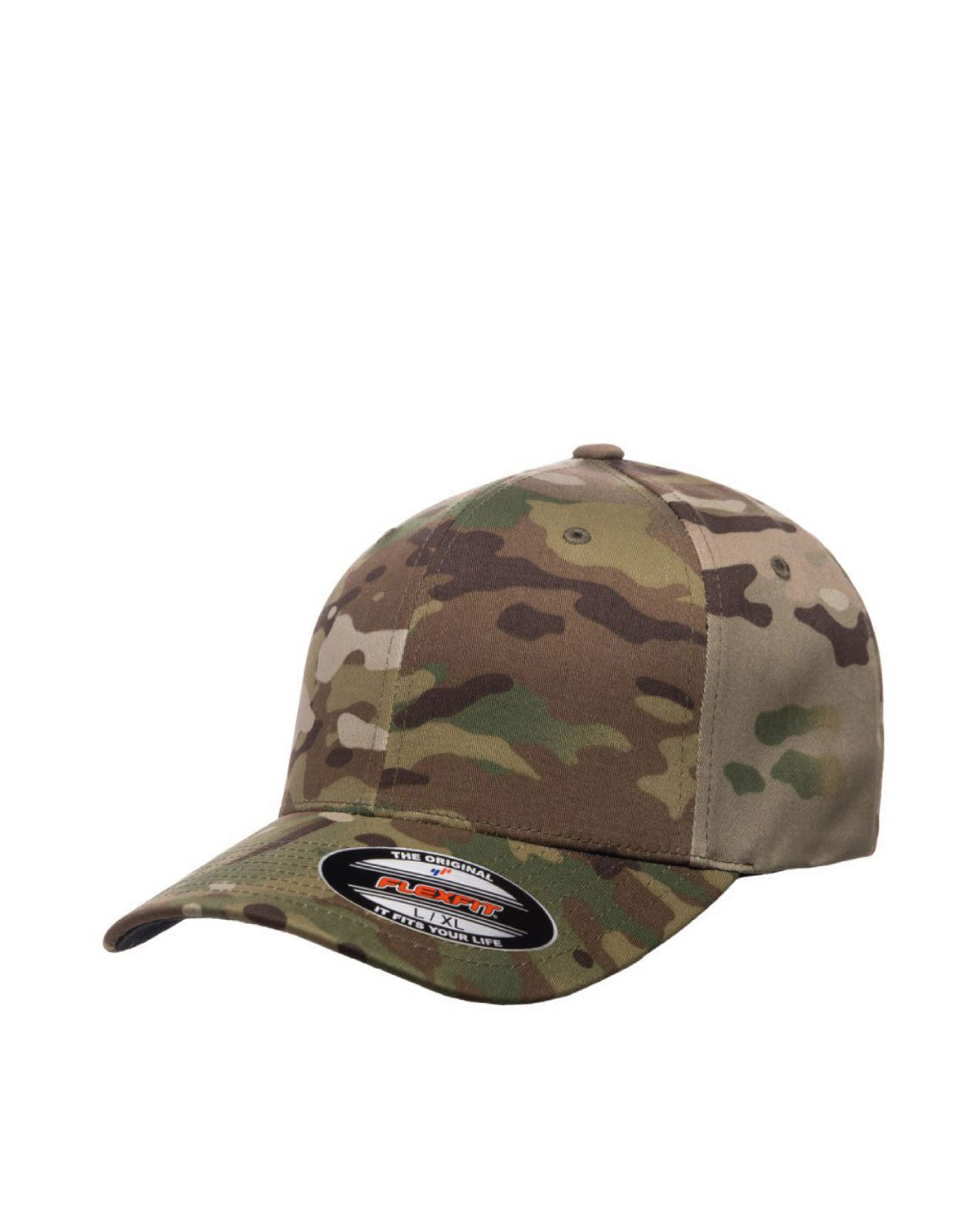 Image of   Flexfit Baseball Cap (Multicam, S/M)