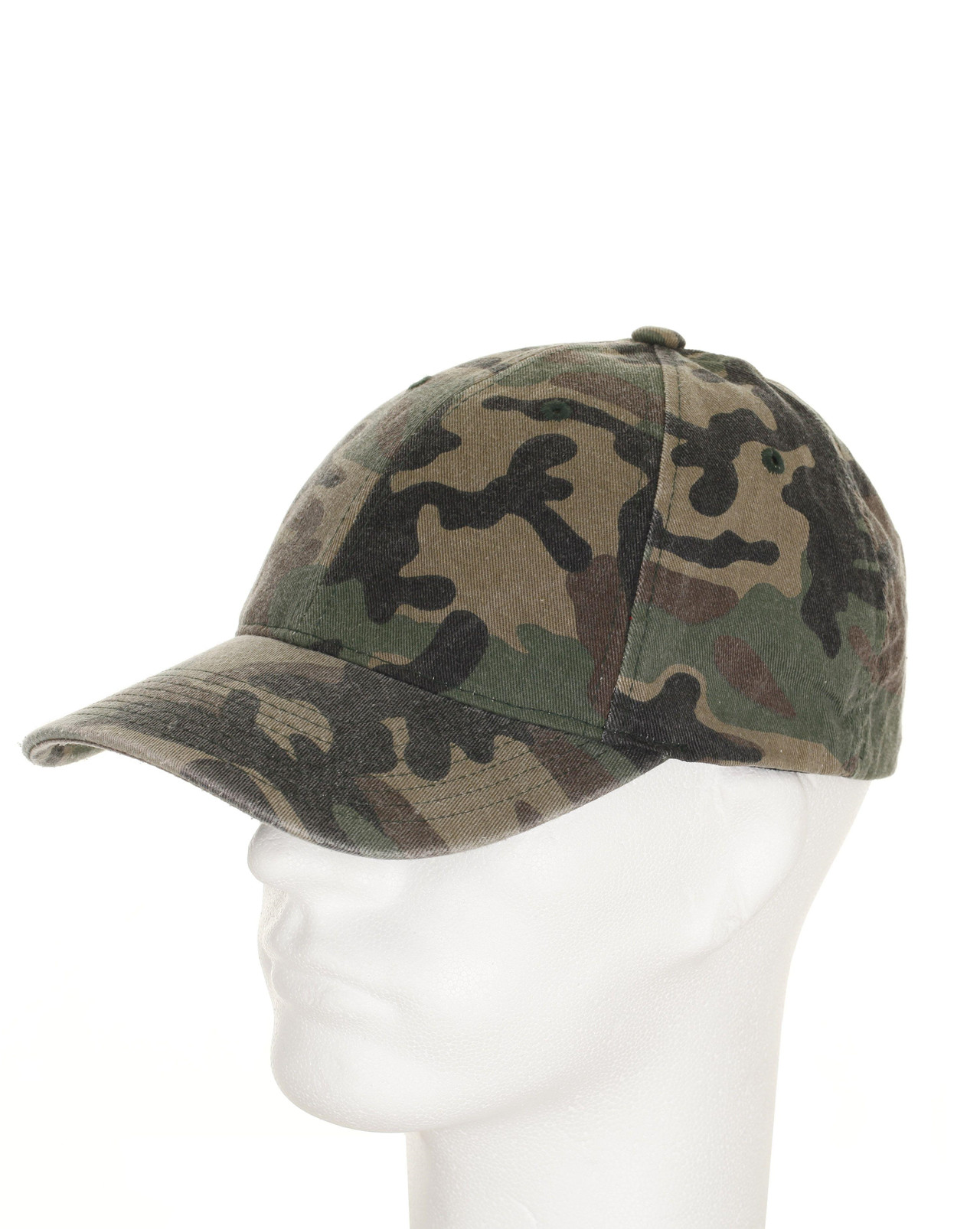 Image of   Flexfit Baseball Cap (Woodland, L/XL)