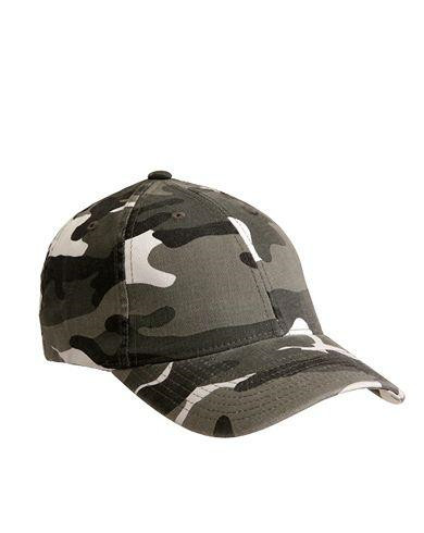 Image of   Flexfit Baseball Cap (Urban Camo, S/M)