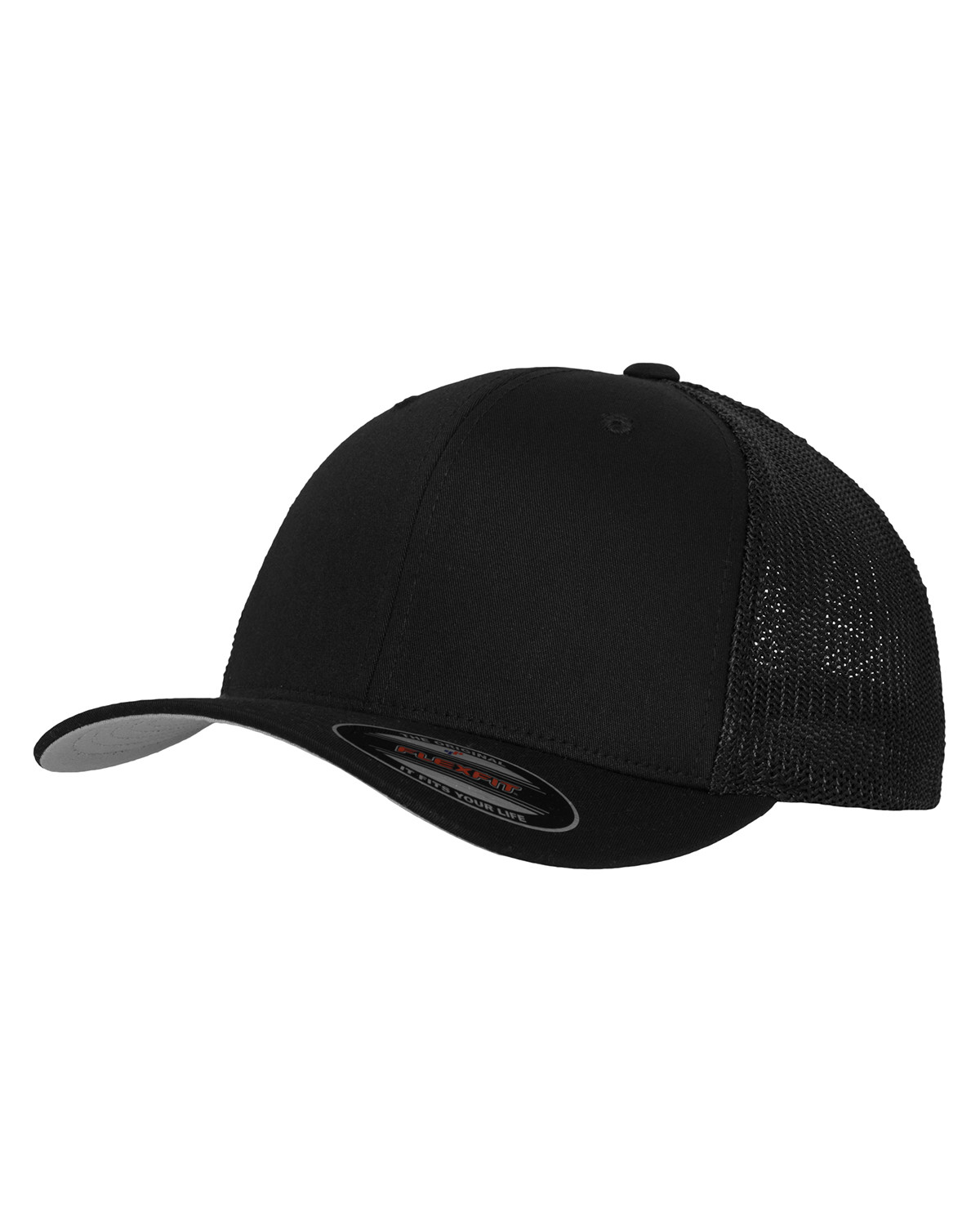 Image of   Flexfit Mesh Trucker Cap (Sort, L/XL)