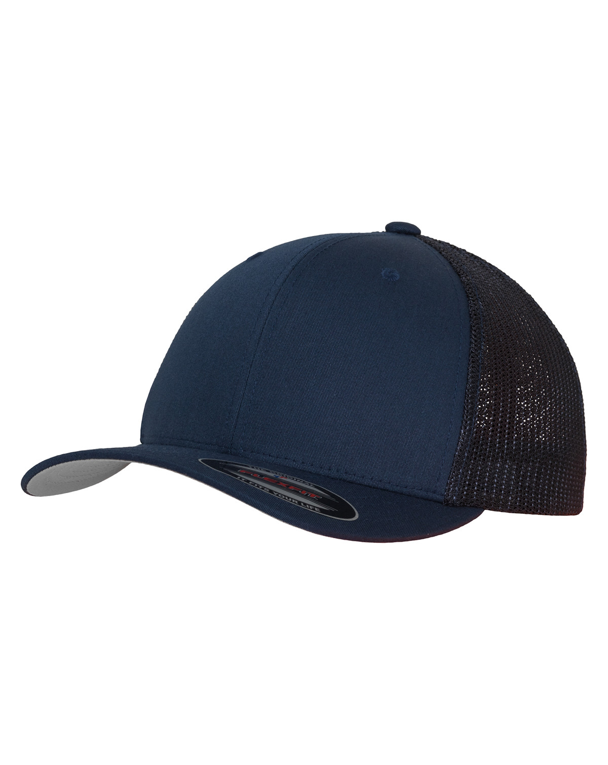 Image of   Flexfit Mesh Trucker Cap (Navy, L/XL)