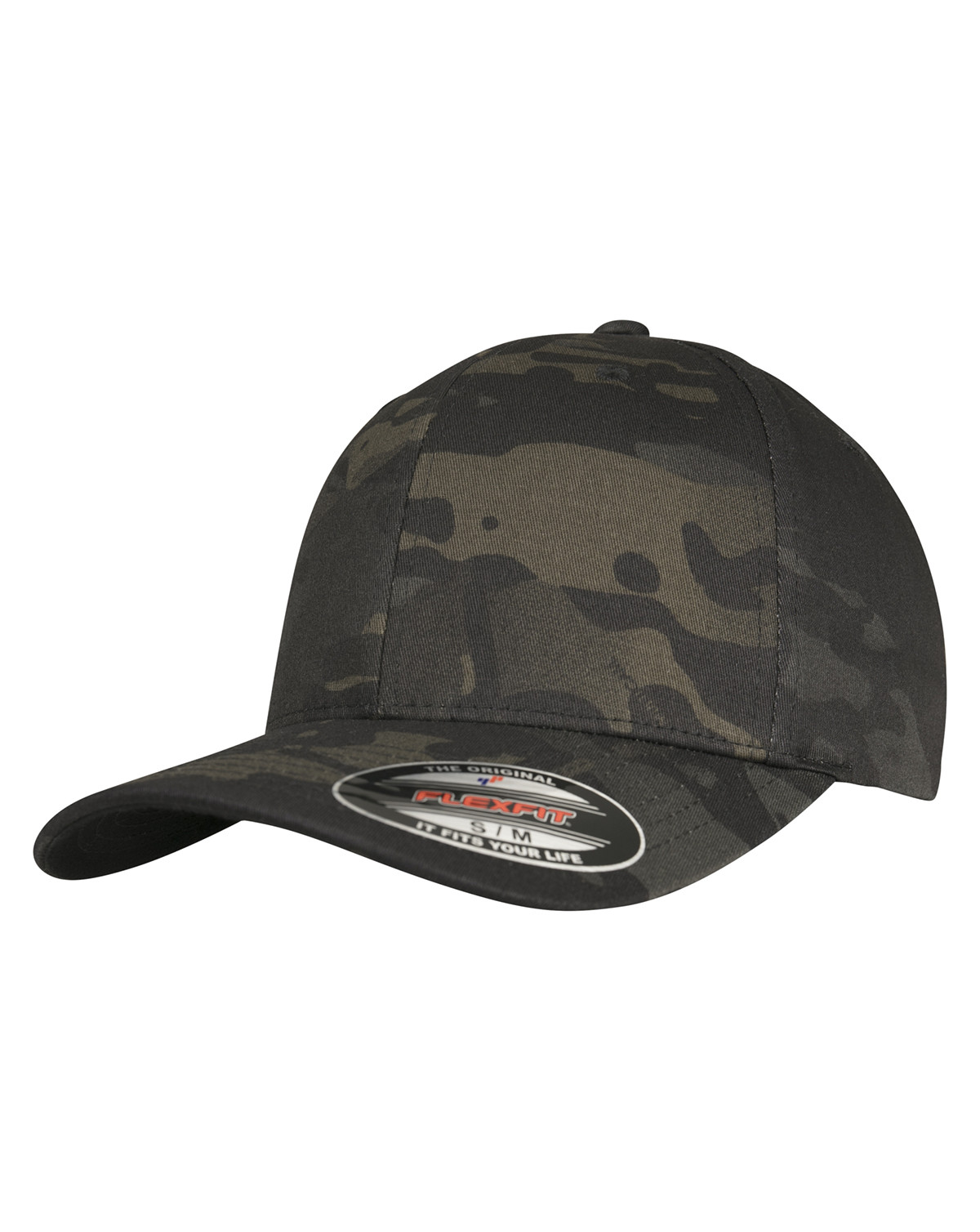 Image of   Flexfit Multicam® Cap (Black Multicam, L/XL)