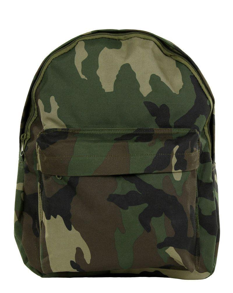 Fostex Army Ryggsäck för Barn (Woodland, One Size)