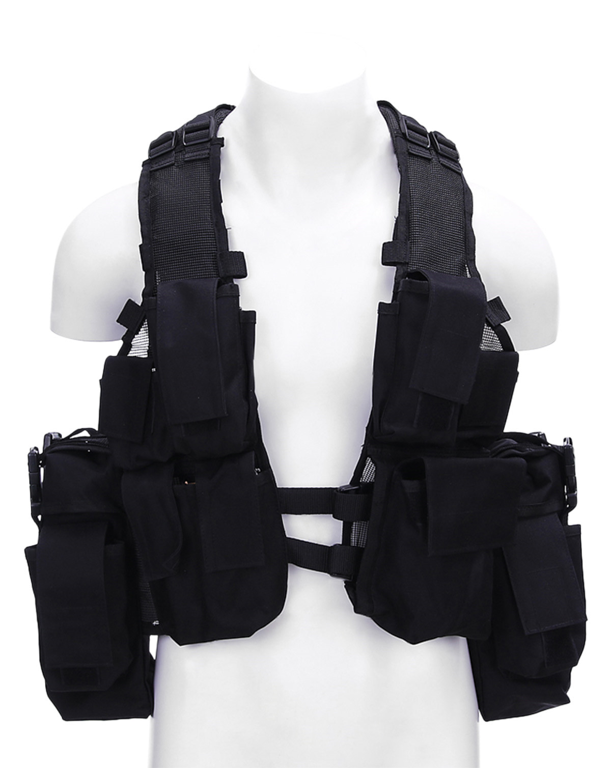 Image of   Fostex Assault Vest (Sort, One Size)