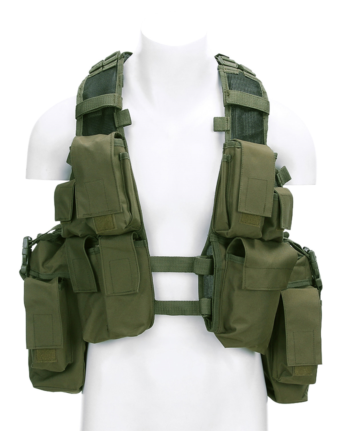 Image of   Fostex Assault Vest (Oliven, One Size)