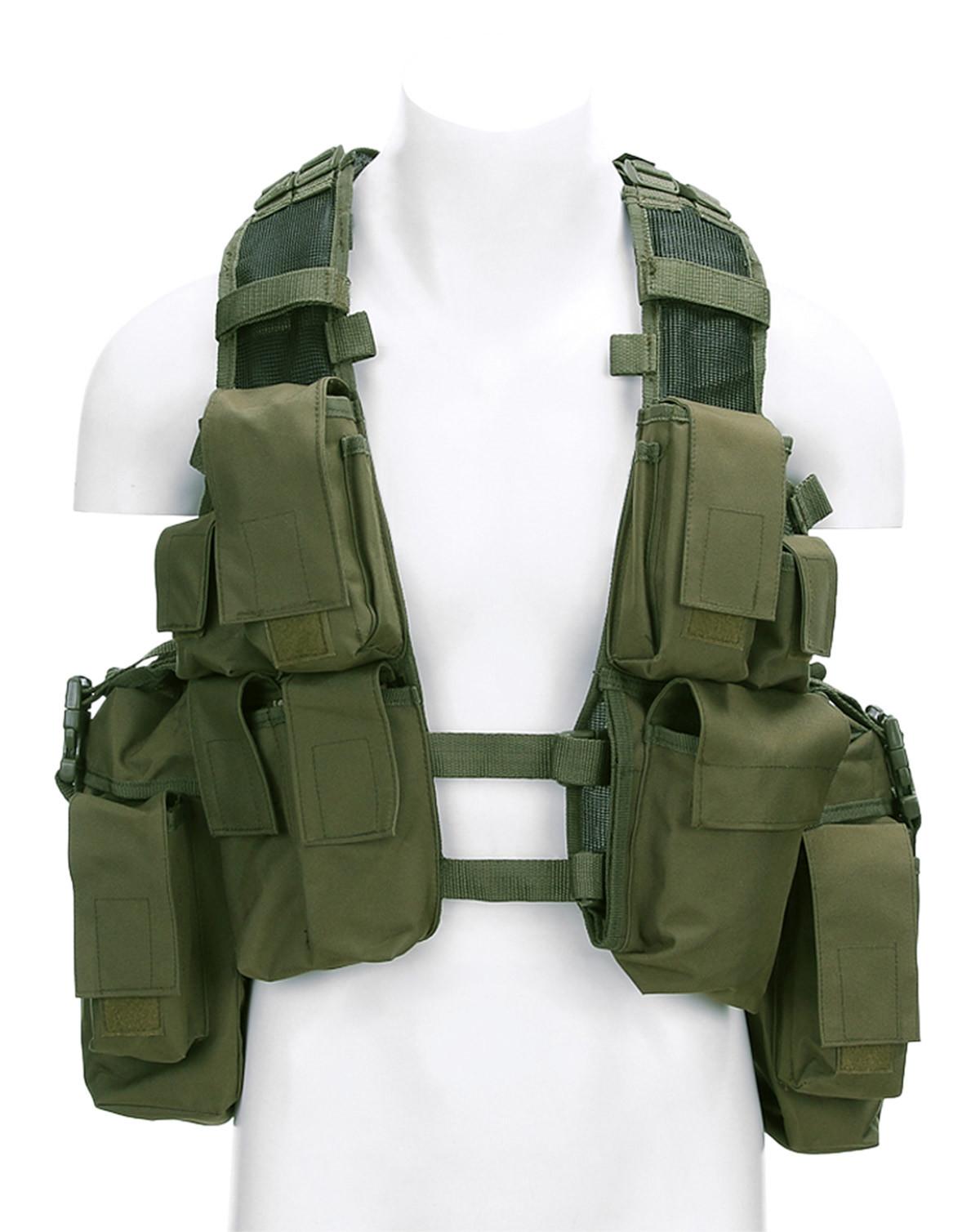 Image of   Fostex Assault Vest (Oliven, One Size)