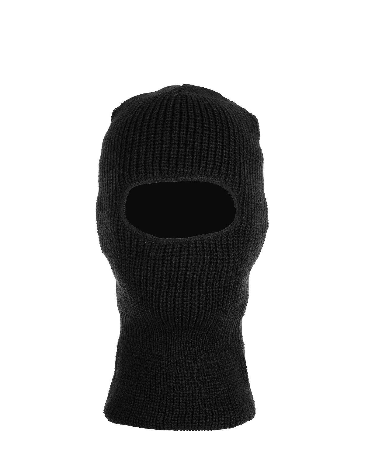 Image of   Fostex Balaclava 1-hul - Akryl (Sort, One Size)