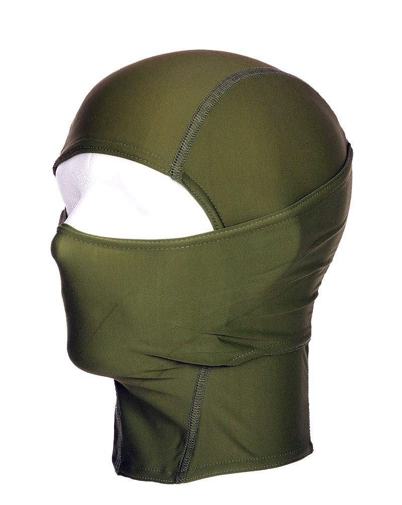 Image of   Fostex Balaclava - ninja, tynd (Oliven, One Size)