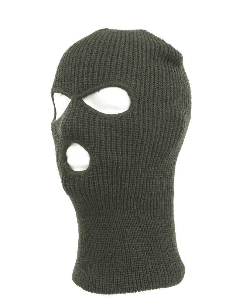 Image of   Fostex Balaclava (Oliven, One Size)