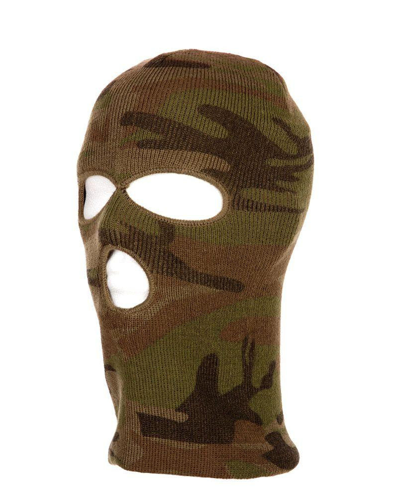 Image of   Fostex Balaclava (Woodland, One Size)