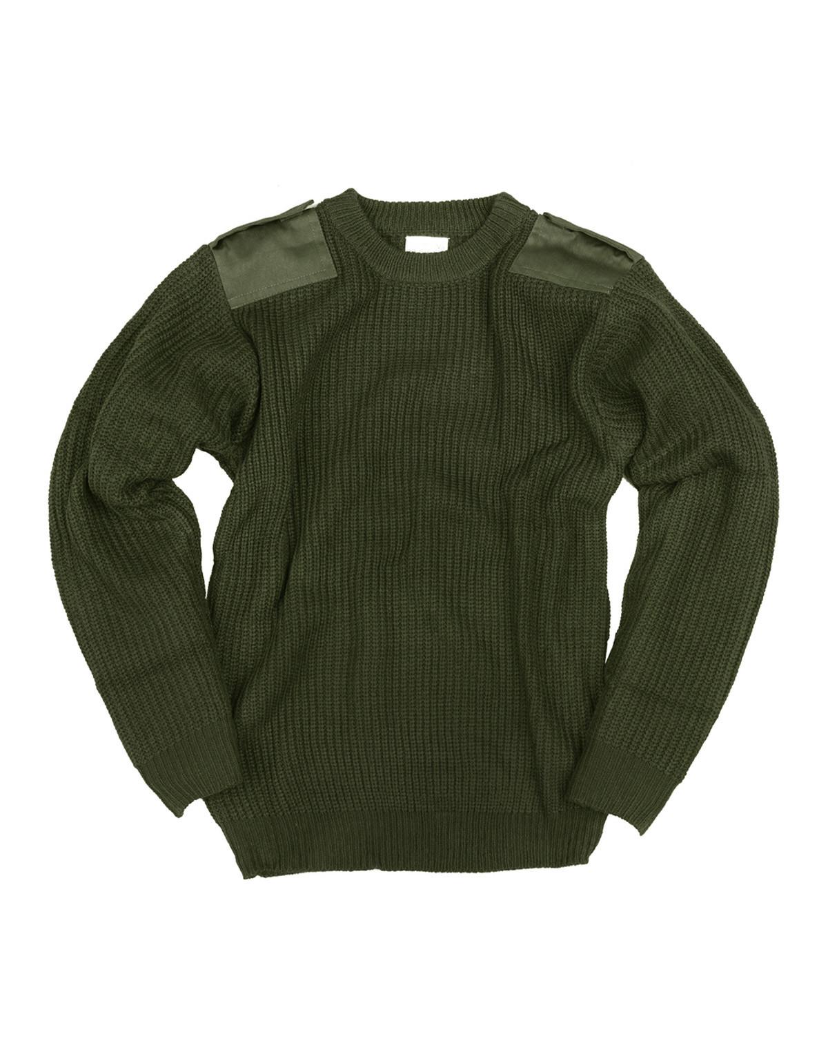 Image of   Fostex Børne Commando Pullover (Oliven, 122)