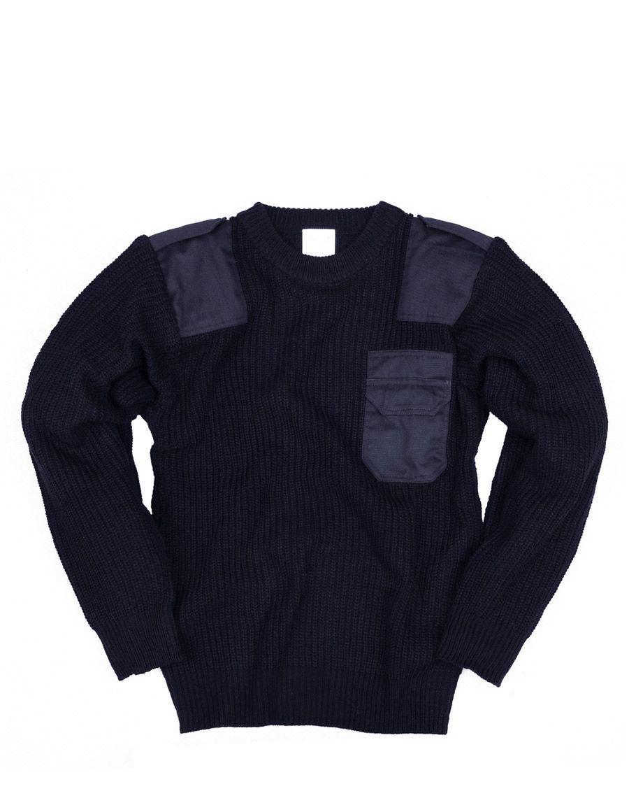 Image of   Fostex Børne Commando Pullover (Navy, 122)