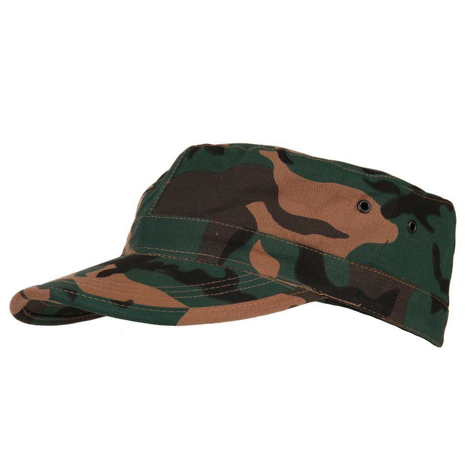 Image of   Fostex Military Fatique Cap (Woodland, M)