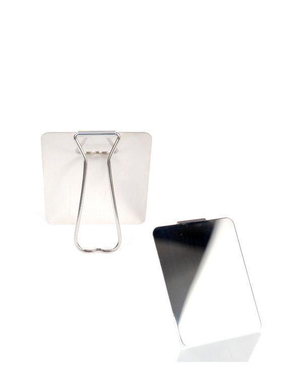 Image of   Fostex Originalt Italiensk Rejsespejl (Blank Metal, One Size)