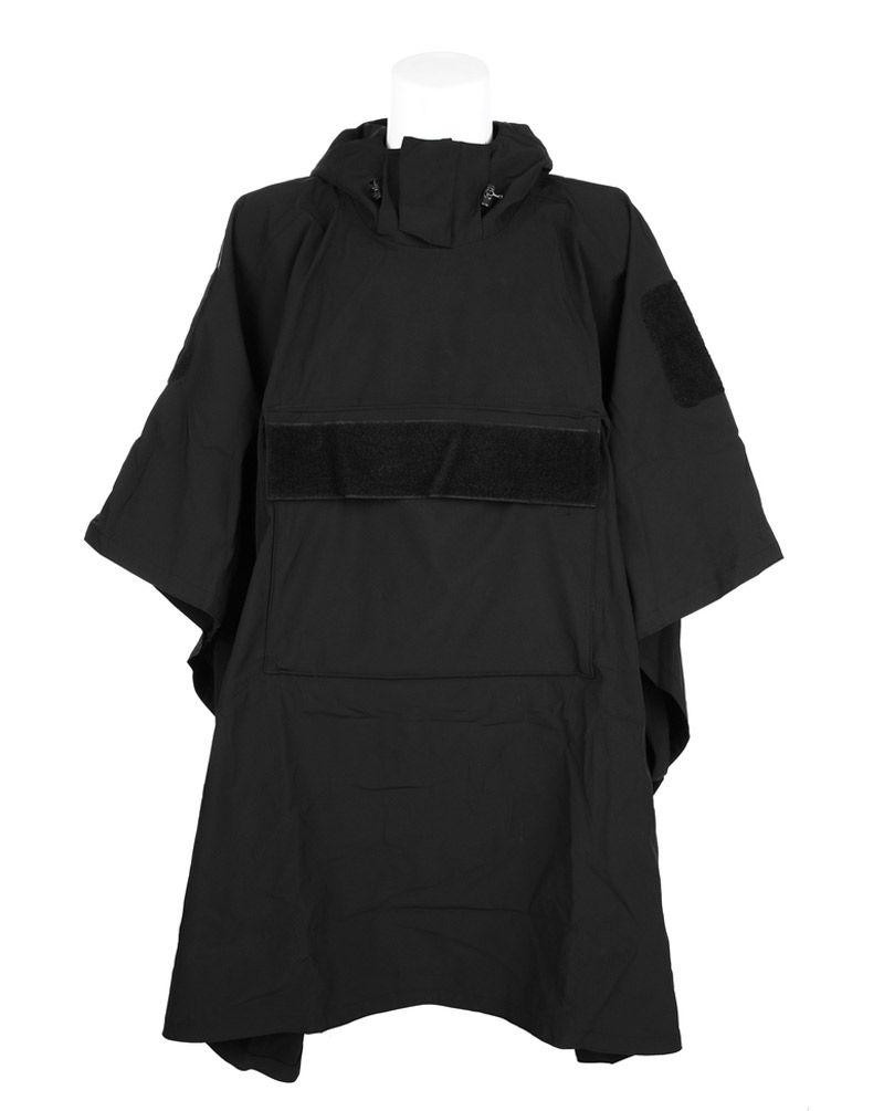 Image of   Fostex Softshell Poncho (Sort, One Size)