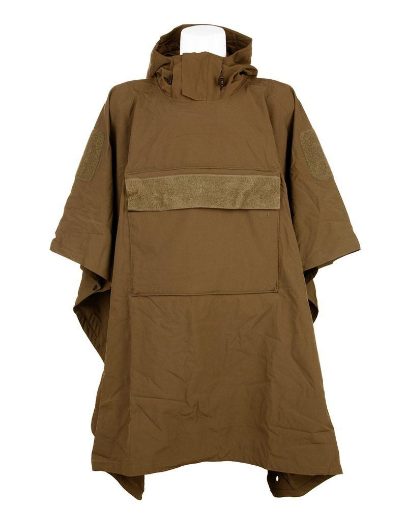 Image of   Fostex Softshell Poncho (Coyote Brun, One Size)