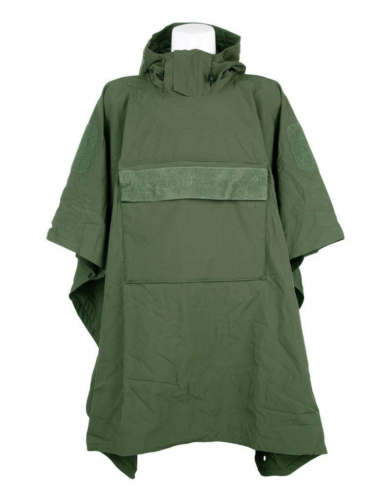 Image of   Fostex Softshell Poncho (Oliven, One Size)