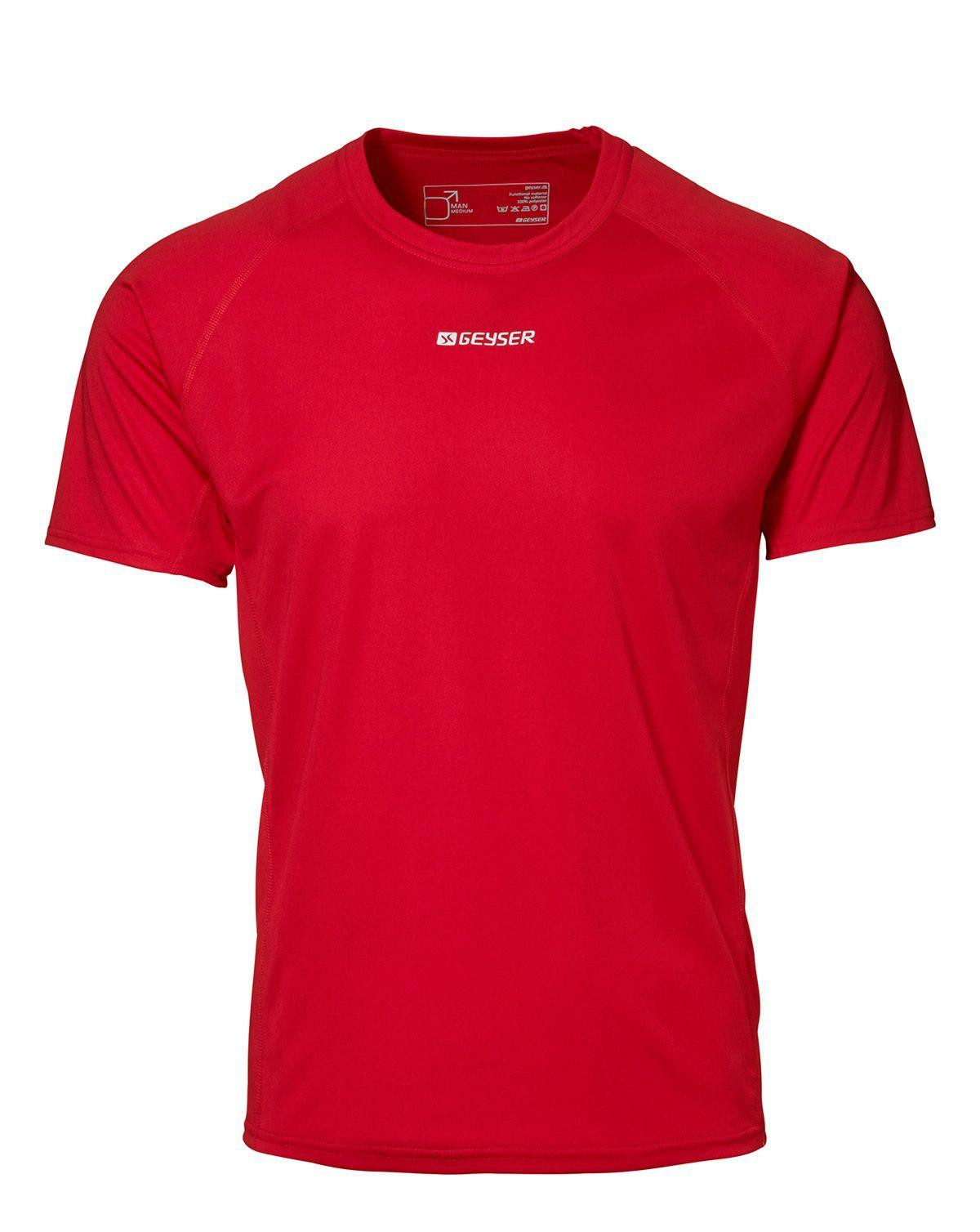 Image of   GEYSER Active T-shirt til Herre (Rød, XL)