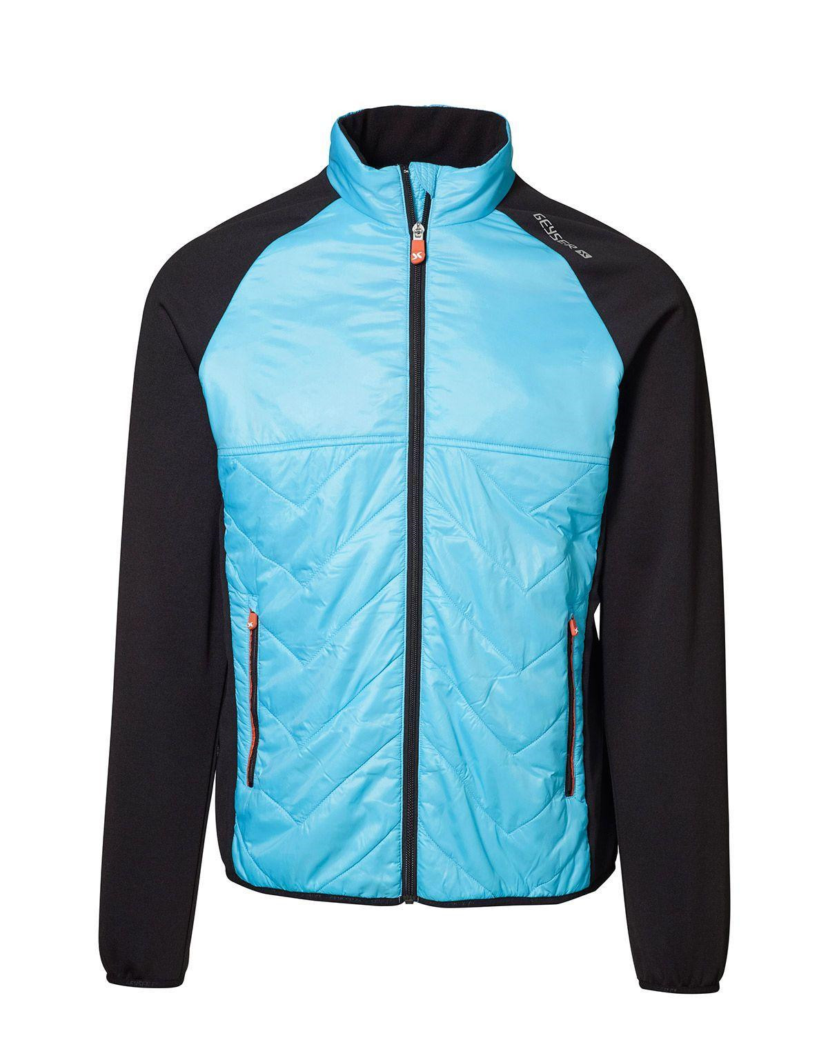 Image of   GEYSER Cool Down Jakke til Herre (Aqua, 3XL)