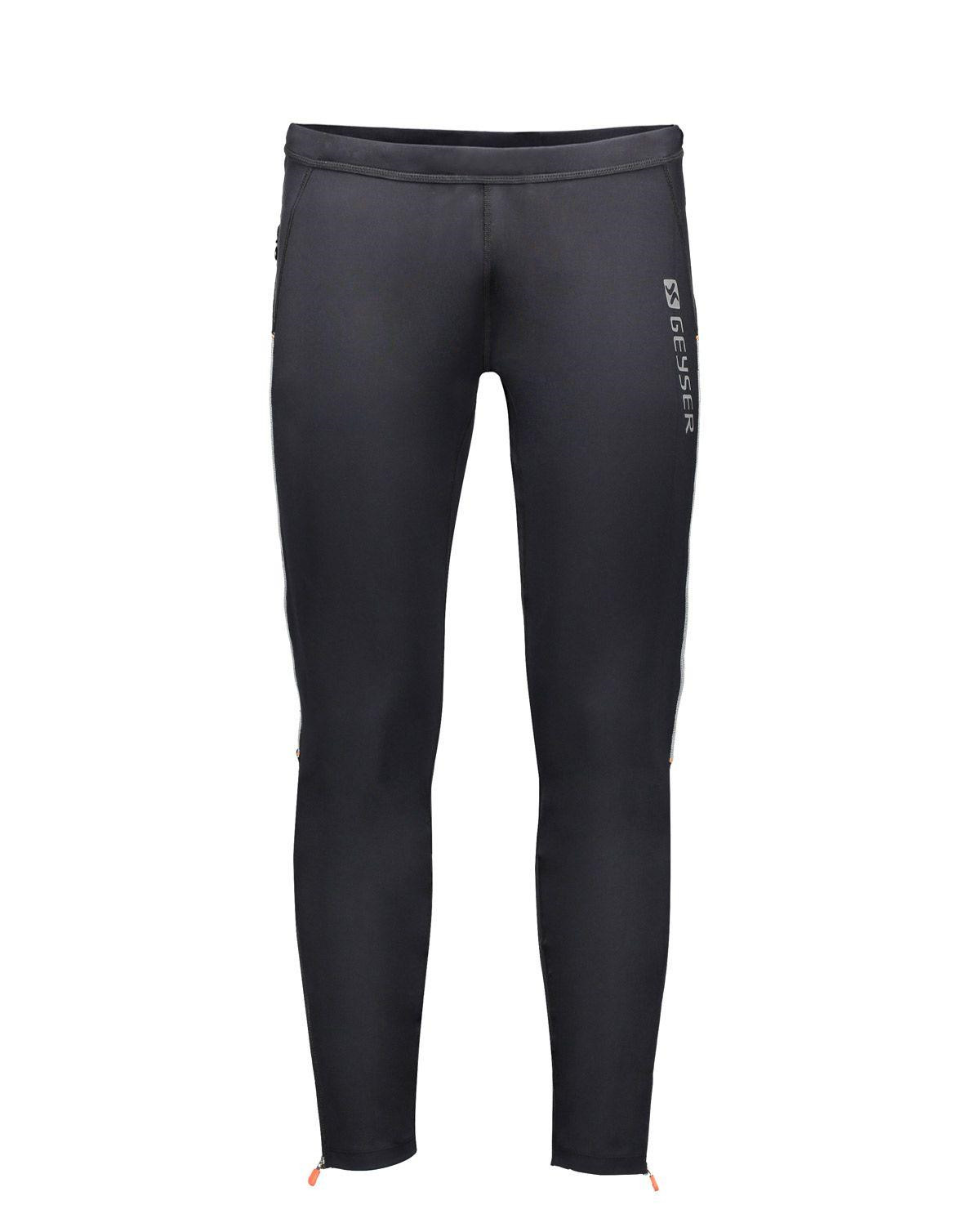 Image of   GEYSER Lange Tights (Sort, 2XL)