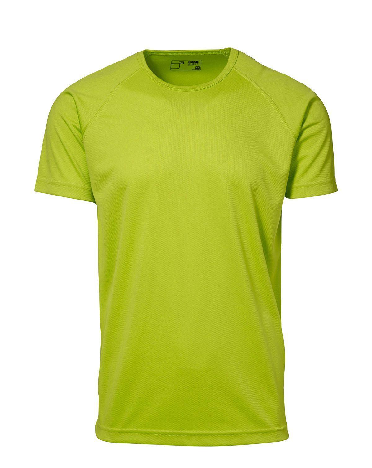 ID Active T-shirt för Män - Fukttransporterande (Lime, XL)