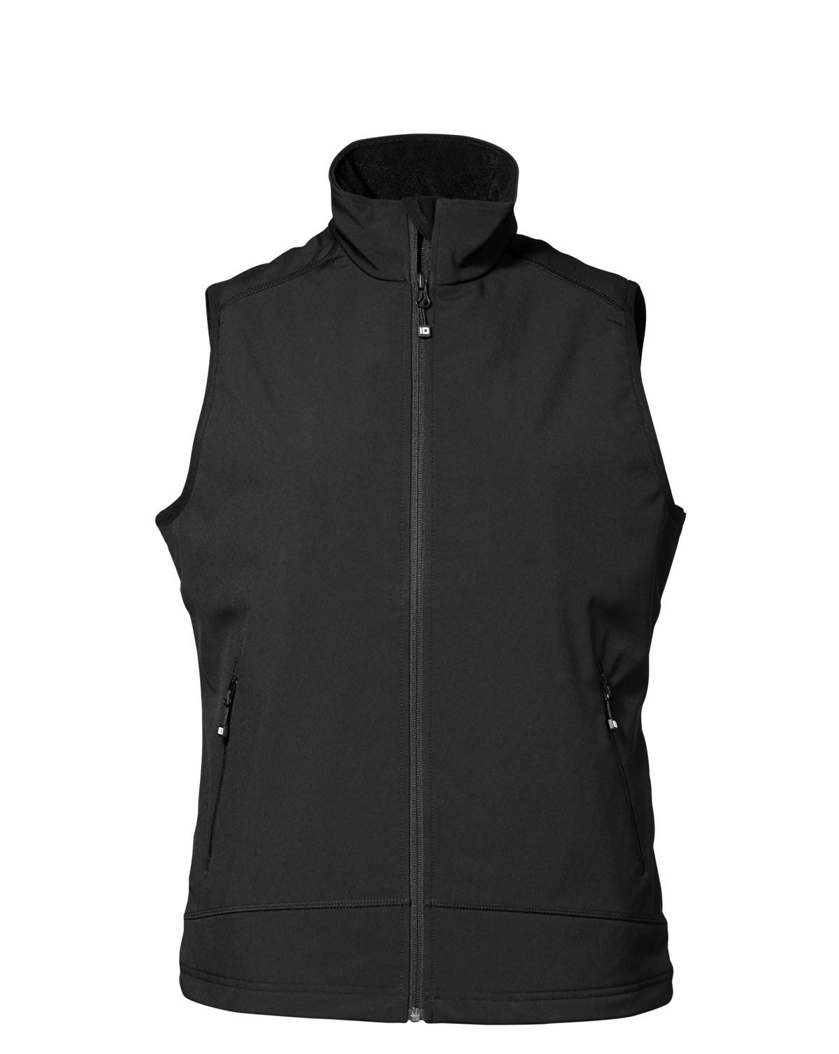 Image of   ID Dame Softshell Vest (Sort, XL)