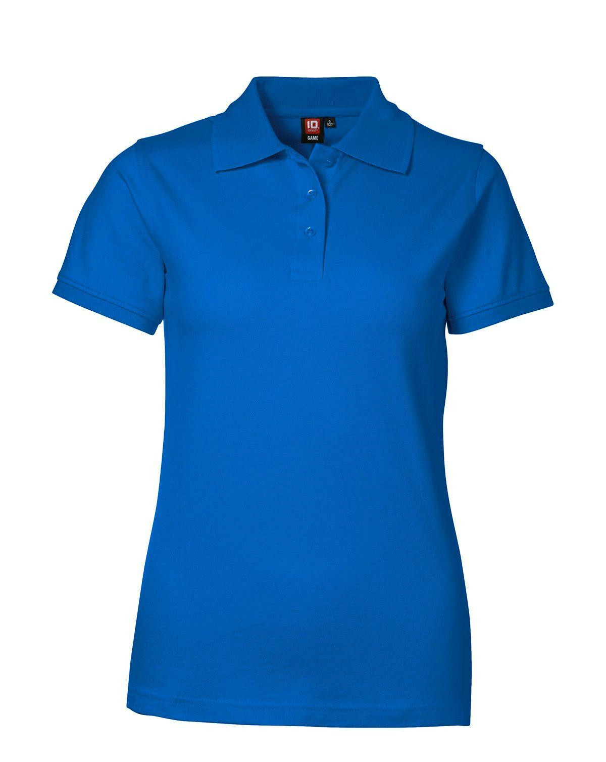 Image of   ID Feminin Stretch Polo (Azure, 2XL)