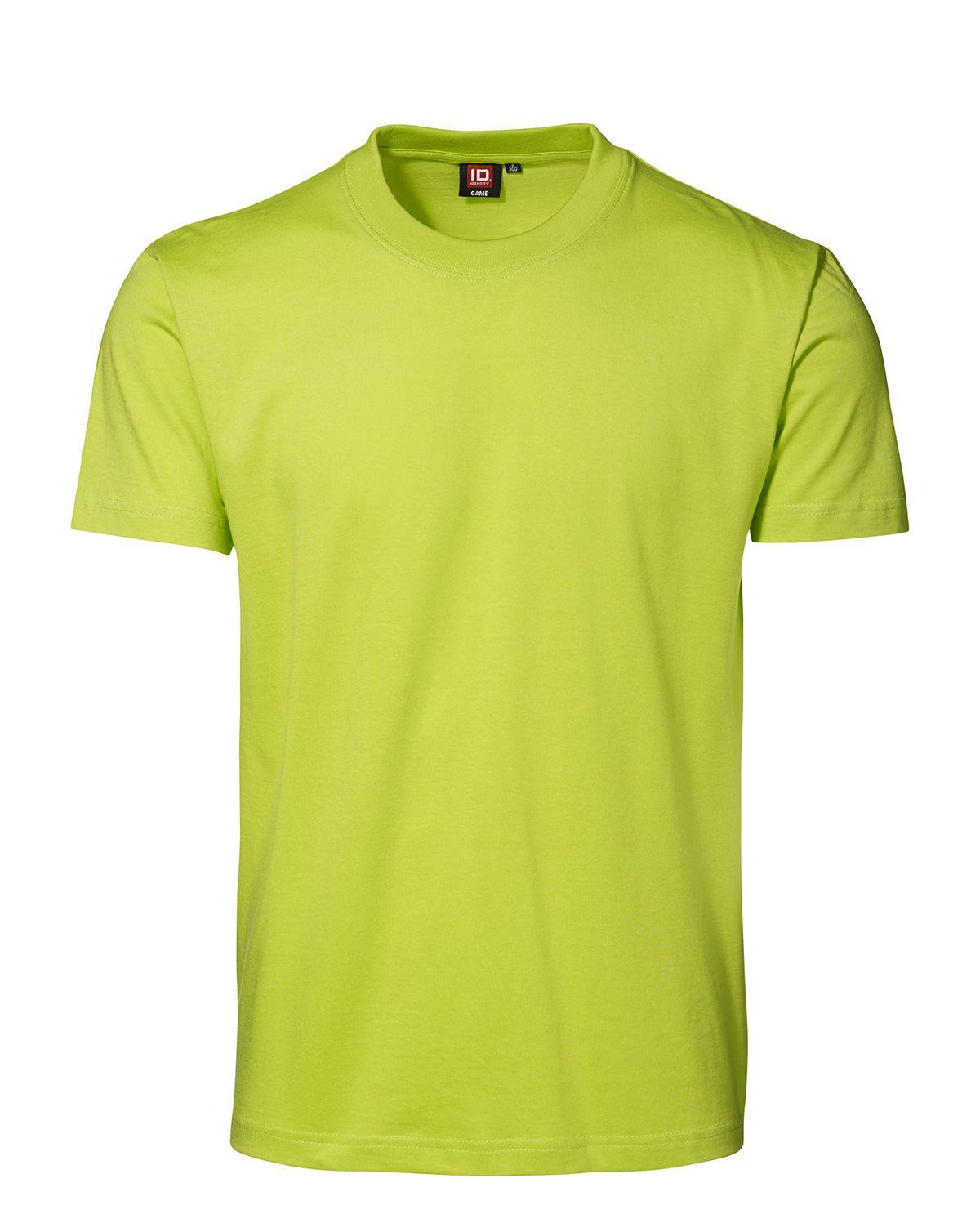 ID GAME T-shirt (Lime, XL)